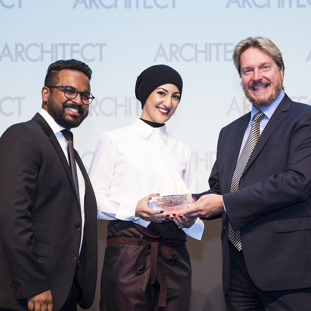Middle East Architect Award 2016 Winner! F.LOT